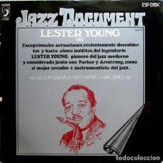 """Discos de vinilo: LESTER YOUNG: """"PRES"""" LP VINILO 1974 JAZZ. Lote 296861323"""