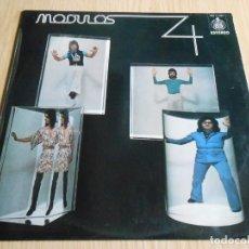 Discos de vinilo: MODULOS - MODULOS 4 -, LP, PARA UN MUNDO DIFERENTE + 10, AÑO 1974. Lote 296861718