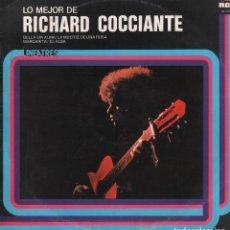 Discos de vinilo: LO MEJOR DE RICHARD COCCIANTE - LINEATRES / LP RCA 1978 / BUEN ESTADO RF-10722. Lote 296861753