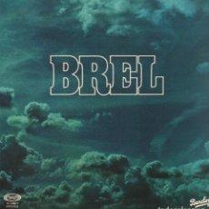 Discos de vinilo: BREL - BARCLAY / LP MOVIE PLAY DE 1977 / DOBLE PORTADA / MUY BUEN ESTADO RF-10723. Lote 296862078