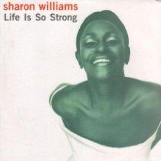 Discos de vinilo: SHARON WILLIAMS - LIFE IS SO STRONG / LP LE CLUB 2000 / BUEN ESTADO RF-10727. Lote 296862943