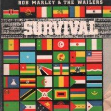 Discos de vinilo: BOB MARLEY & THE WAILERS - SURVIVAL / LP BMG 1979 / CARATULA ALGO RECORTADA RF-10729. Lote 296863583