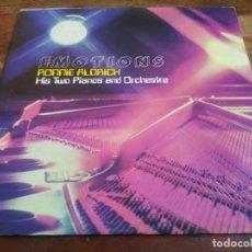 Discos de vinilo: RONNIE ALDRICH - EMOTIONS - LP ORIGINAL LONDON 1978 HECHO EN COSTA RICA EN BUEN ESTADO. Lote 296864798