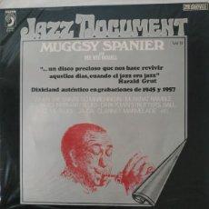 "Discos de vinilo: MUGGSY SPANIER: ""MUGGSY SPANIER"" LP VINILO JAZZ 1976. Lote 296866943"