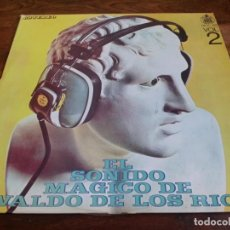Discos de vinilo: EL SONIDO MAGICO DE WALDO DE LOS RIOS VOLUMEN 2 - LP ORIGINAL HISPAVOX HECHO EN GUATEMALA. Lote 296867093