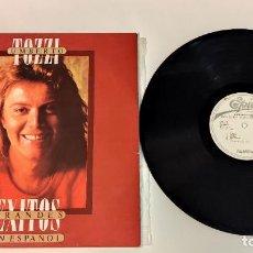 "Discos de vinilo: 1021- UMBERTO TOZZI GRANDES EXITOS ESPAÑOL PROMO VIN 12"" LP P VG+ D NM ES 1980. Lote 296867273"
