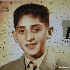 Discos de vinilo: FRANCO BATTIATO,FISIOGNOMICA EDICION ESPAÑOLA DEL 88 DOBLE CARATULA. Lote 296867873