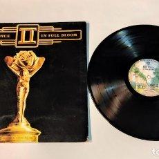 """Discos de vinilo: 1021- ROSE ROYCE II IN FULL BLOOM 1977 ES POR G+ DIS G+ VIN 12"""" LP. Lote 296869848"""