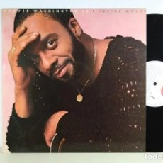 Discos de vinilo: GROVER WASHINGTON JR - INSIDE MOVES - LP - ELEKTRA 1984 USA -. Lote 296870128