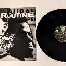 """Discos de vinilo: 1021- ROUTINE URBAN DANCE SQUAD MAXI SINGLE 12"""" P VG+ D VG+ 1991 GER. Lote 296870408"""