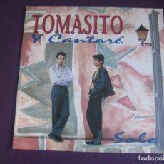 Discos de vinilo: TOMASITO – Y CANTARÈ - SG OKAY 1993 PROMO - NUEVO FLAMENCO RUMBA 90'S - SIN USO. Lote 296871778
