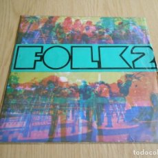 Discos de vinilo: FESTIVAL FOLK II, LP, PAU RIBA - LES POMETES + 11, AÑO 1968. Lote 296872433