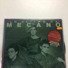 Discos de vinilo: MECANO. LO ÚLTIMO DE MECANO.. Lote 296873228