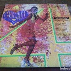 Discos de vinilo: RONNIE ALDRICH - DESTINATION LOVE - LP ORIGINAL LONDON 1972 HECHO EN COSTA RICA BUEN ESTADO. Lote 296874943