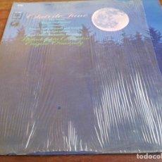 Discos de vinilo: CLARO DE LUNA - ORQUESTRA SINFONICA DE FILADELFIA - LP ORIGINAL CBS 1970 HECHO EN COSTA RICA. Lote 296876643