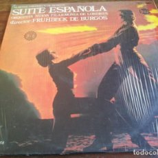 Discos de vinilo: SUITE ESPAÑOLA - ORQUESTRA SINFONICA DE LONDRES - LP ORIGINAL DILA 1970 HECHO EN GUATEMALA. Lote 296877733