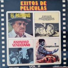 Discos de vinilo: EP - EXITOS DE PELICULAS VOL. 2 - 1972. Lote 296877848