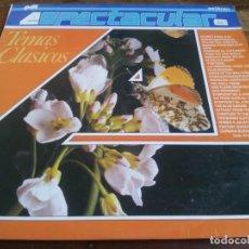 Discos de vinilo: TEMAS CLASICOS - ESPECTACULAR - LP ORIGINAL PDI 1988 BUEN ESTADO. Lote 296879018