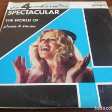 Discos de vinilo: SPECTACULAR - THE WORLD OF PHASE 4 STEREO - TRIPLE LP ORIGINAL LONDON 1975 HECHO EN COSTA RICA. Lote 296882208