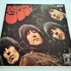 Discos de vinilo: VINILO LP DE THE BEATLES. RUBBER SOUL. 1972. COMO NUEVO.. Lote 296884693