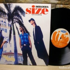 Dischi in vinile: BEE GEES – SIZE ISN'T EVERYTHING LP. Lote 296888053