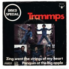 Discos de vinilo: TRAMMPS - ZING WENT THE STRINGS OF MY HEART - BUDDAH DISCO SPECIAL. Lote 296901423