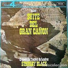 Discos de vinilo: STANLEY BLACK - SUITE DEL GRAN CAÑÓN. Lote 296908738