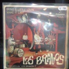 Discos de vinilo: LOS BRAVOS.. Lote 296910753