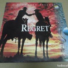 Discos de vinilo: NEW ORDER (MAXI) REGRET (4 TRACKS) AÑO – 1993 – EDICION U.K.. Lote 296910783