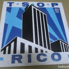 Discos de vinilo: RICO (MAXI) T.S.O.P. (2 TRACKS) AÑO – 1989. Lote 296911058