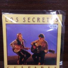 Discos de vinilo: LOS SECRETOS. CULPABLE.. Lote 296911363
