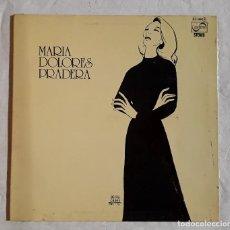 Discos de vinilo: LP VINILO. MARIA DOLORES PRADERA. 1975.. Lote 296935548