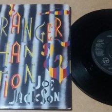 Discos de vinilo: JOE JACKSON / STRANGER THAN FICTION / SINGLE 7 PULGADAS. Lote 296946018