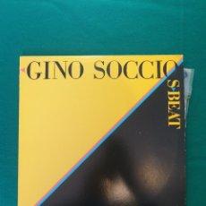 Discos de vinilo: DISCOS DE VINILO: GINO SOCCIO - S- BEAT. LOTE 181351681 GINO SOCCIO - S- BEAT. Lote 296949018