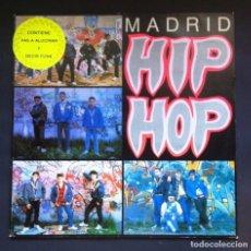 Discos de vinilo: VARIOS - MADRID HIP HOP - LP CON INSERTO 1989 - TROYA. Lote 296951308