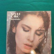 Discos de vinilo: NYDIA CARO - INTIMIDADES - LP 1981. Lote 296953303