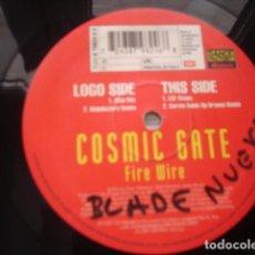 Discos de vinilo: COSMIC GATE FIRE WIRE. Lote 296957303