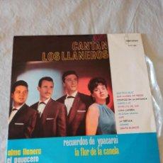 Discos de vinilo: ASI CANTAN LOS LLANEROS.. Lote 296960598