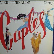 Discos de vinilo: LP JAVIER ITURRALDE DIRIGE CUPLES. Lote 296965418