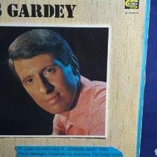 Discos de vinilo: LP LUIS GARDEY. YO QUE NO VIVO SIN TÍ, BALADA DEL AMANECER...COBRA 1978. Lote 296999708