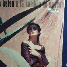 Discos de vinilo: LP ANA BELÉN. A LA SOMBRA DE UN LEÓN. 1988. Lote 297013423