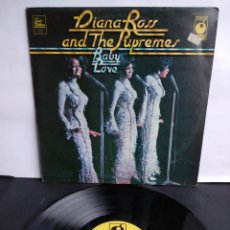 Discos de vinilo: DIANA ROSS, AND THE SUPREMES, BABY LOVE, EMI, 1964. Lote 297028218