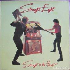 Discos de vinilo: STRAIGHT EIGHT: STRAIGHT TO THE HEART. ROCK BRITÁNICO, APADRINADOS POR PETE TOWNSHEND. Lote 297031068