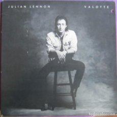 Discos de vinilo: JULIAN LENNON: VALOTTE. ORIGINAL U.S.A.. Lote 297033538