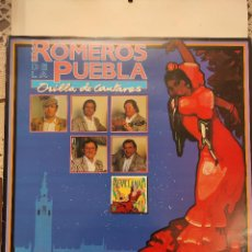 Discos de vinilo: LOS ROMEROS DE LA PUEBLA - ORILLA DE CANTARES - HISPAVOX 1991. Lote 297039053