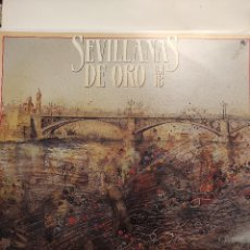 Discos de vinilo: SEVILLANAS DE ORO VOL. 18 - 2 LP - HISPAVOX 1988. Lote 297039538