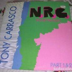Discos de vinilo: TONY CARRASCO N.R.G. 1990. Lote 297055318