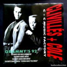 Discos de vinilo: CLIVILLES & COLE - A DEEPER LOVE (RADIO VERSION) - SINGLE PROMOCIONAL 1992 - CBS. Lote 297056593