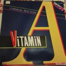 """Discos de vinilo: VITAMIN A – CHEMICAL REACTION SELLO: ZAFIRO – OOS-746 FORMATO:VINYL, 12"""", NUEVO . MINT / NEAR MINT. Lote 297062563"""
