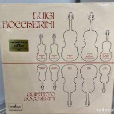 Discos de vinilo: BOCCHERINI, QUINTETTO BOCCHERINI - QUINTETOS (2XLP, ALBUM). Lote 297061093